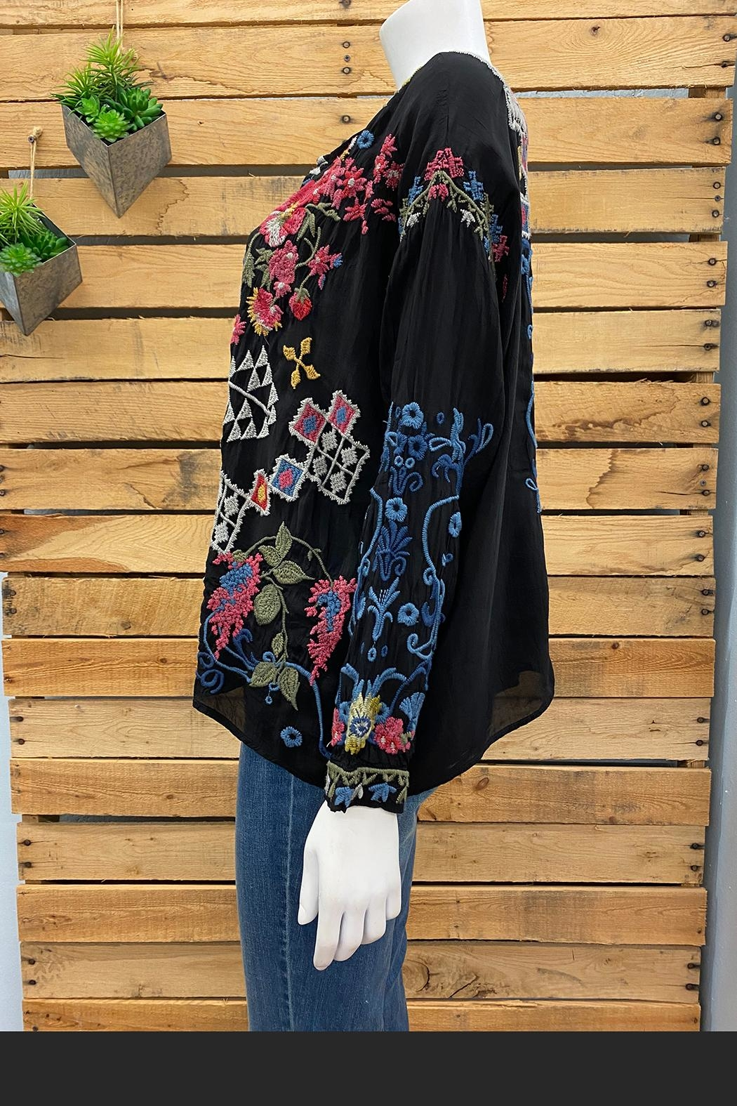 Johnny Was Collection Sybil Blouse - Front Full Image
