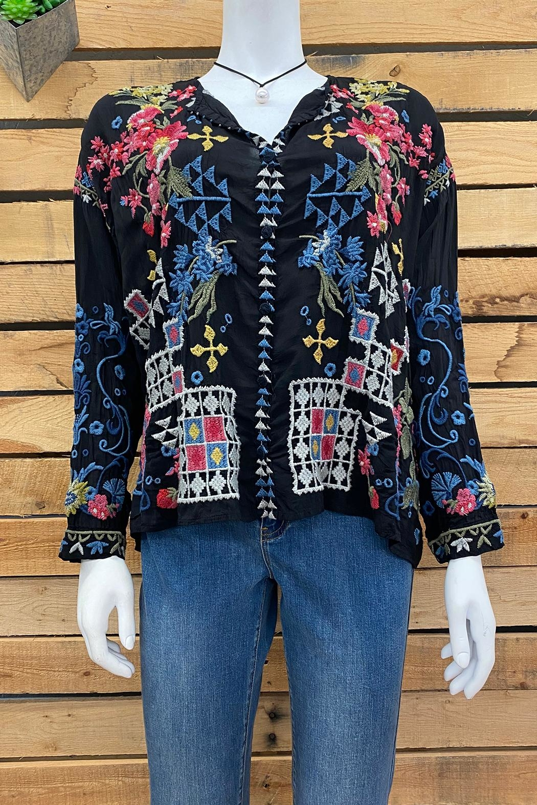 Johnny Was Collection Sybil Blouse - Main Image