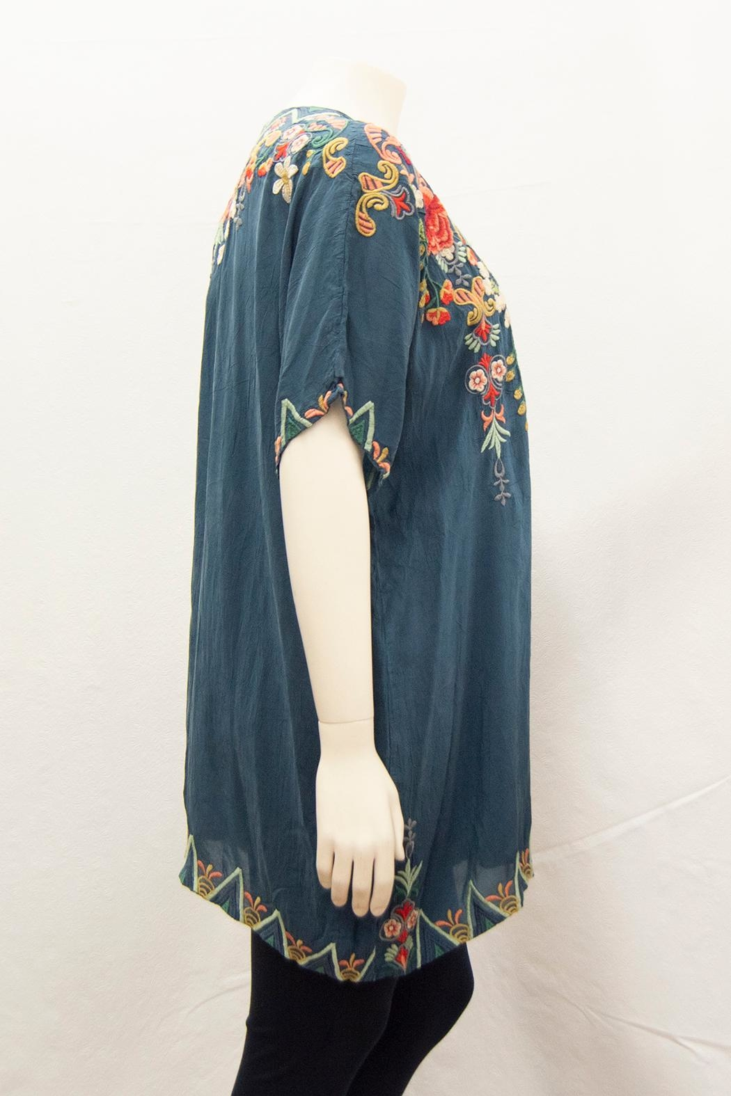 Johnny Was Collection Tamaya Tunic Plus - Front Full Image
