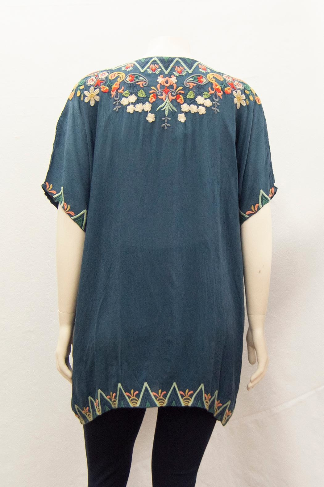 Johnny Was Collection Tamaya Tunic Plus - Side Cropped Image