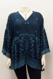Johnny Was Collection Teyanna Tunic - Front cropped