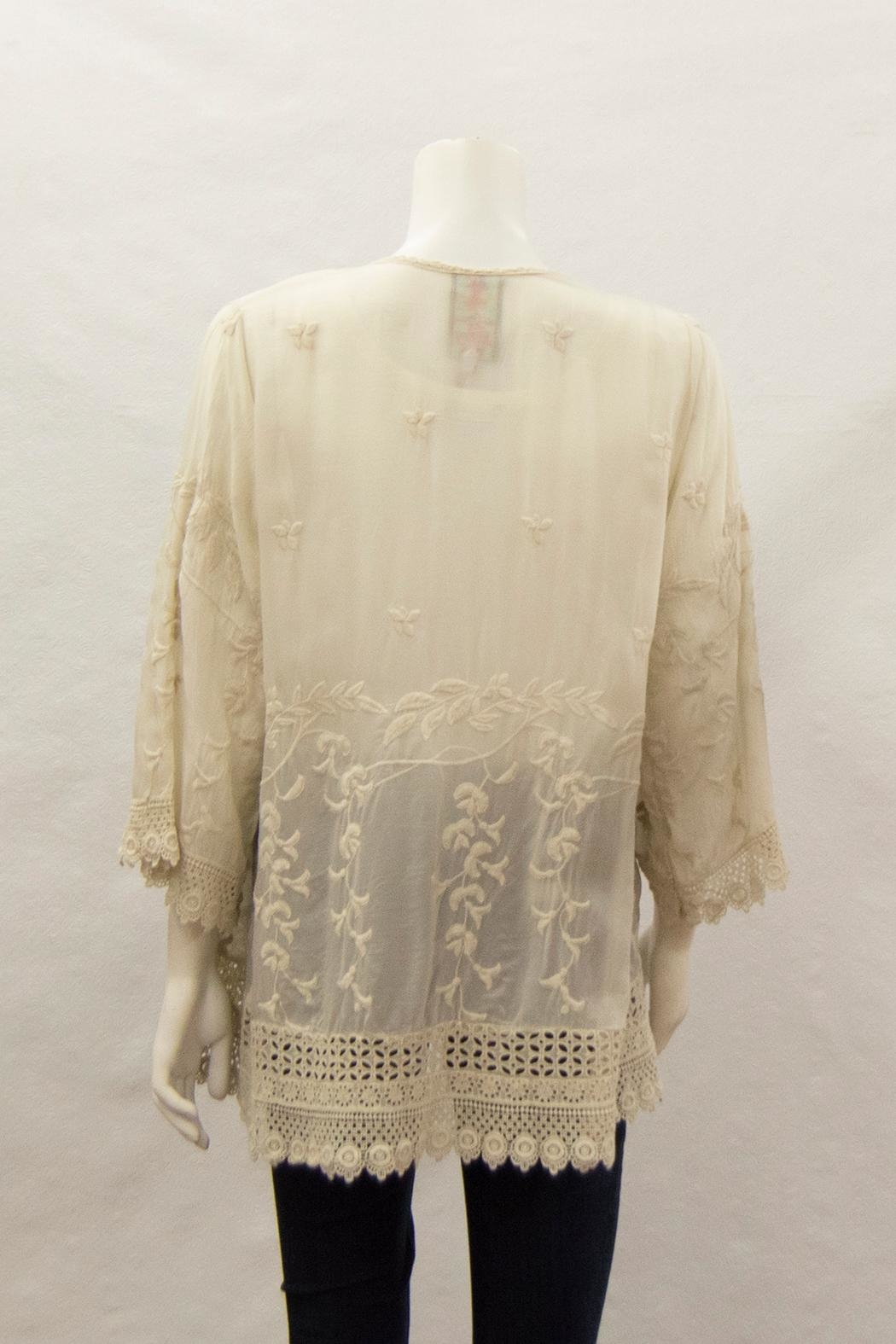 Johnny Was Collection Teyanna Tunic - Side Cropped Image