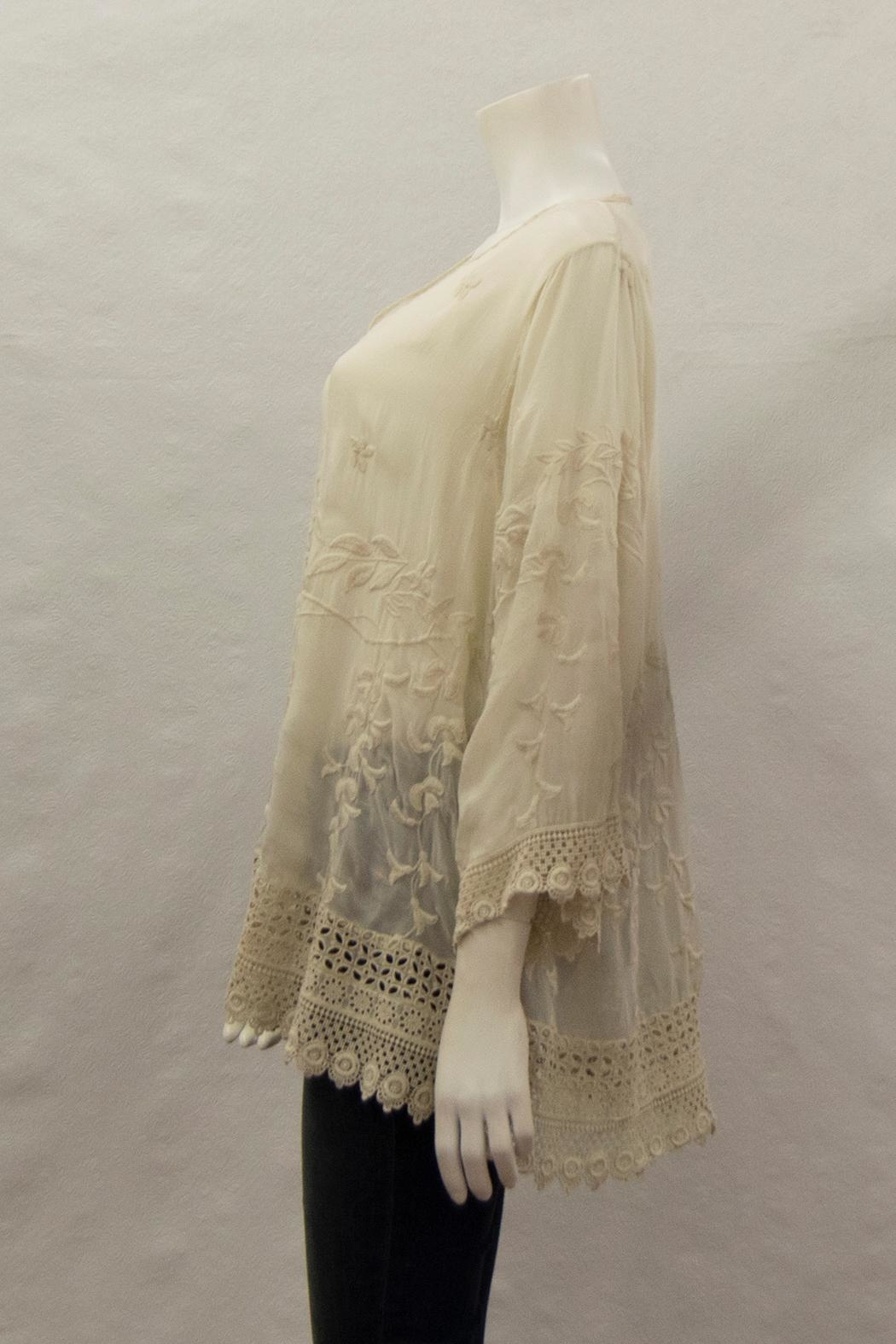 Johnny Was Collection Teyanna Tunic - Front Full Image