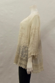 Johnny Was Collection Teyanna Tunic - Front full body