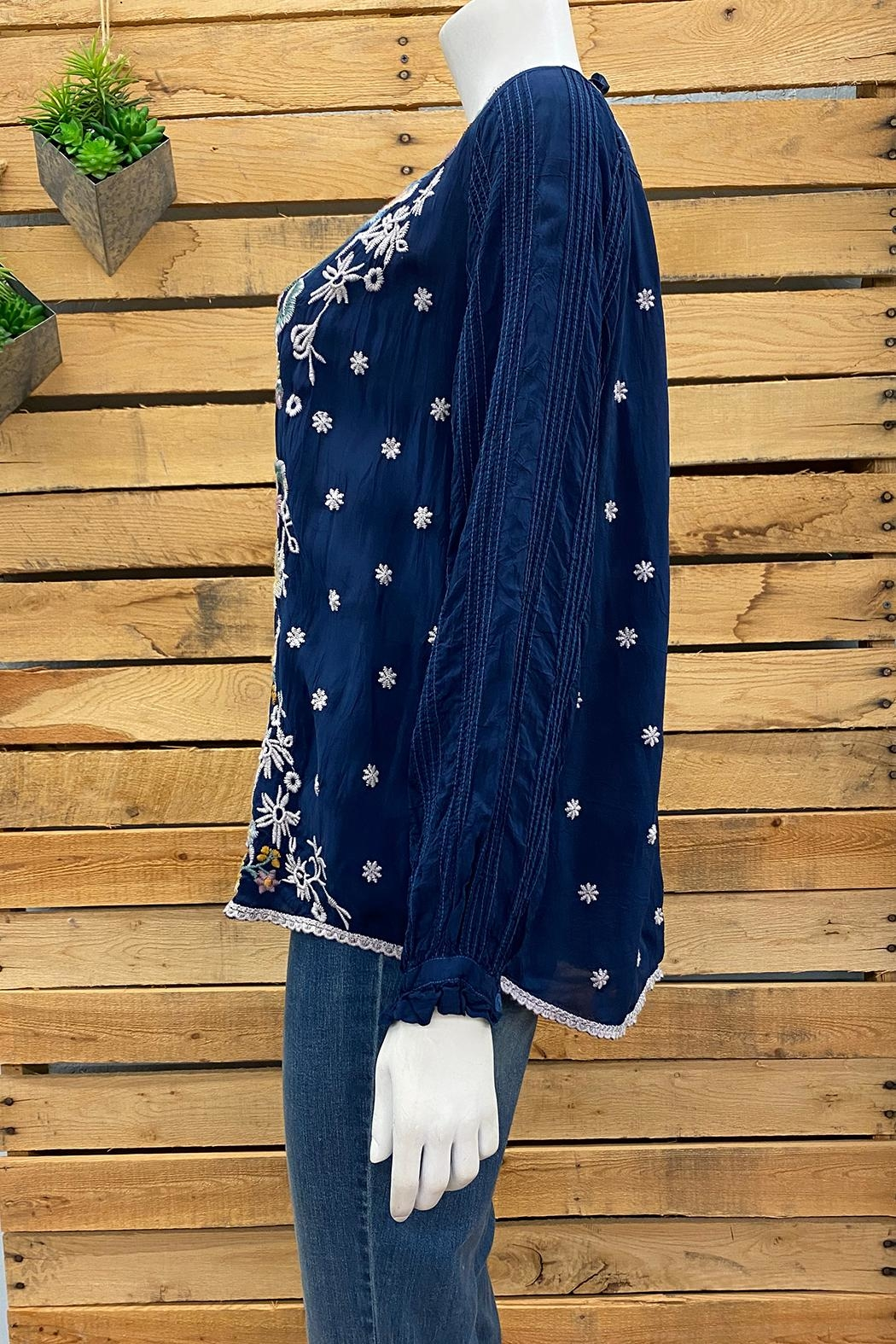 Johnny Was Collection Tove Blouse - Front Full Image