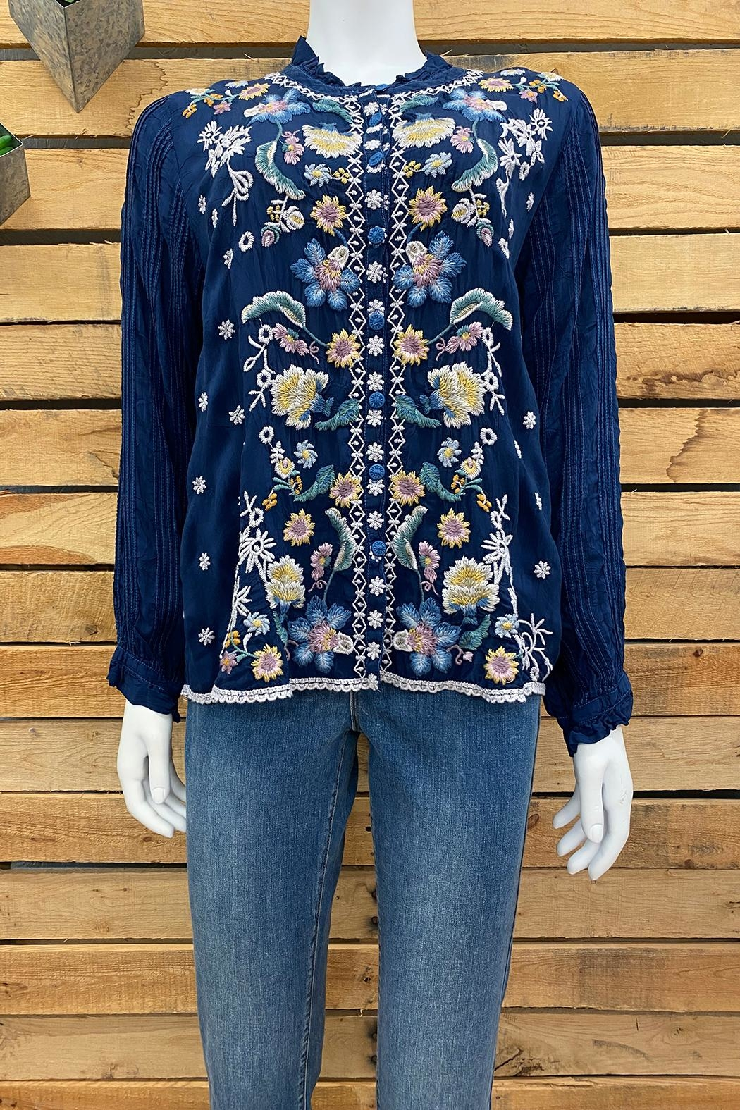 Johnny Was Collection Tove Blouse - Main Image