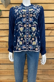 Johnny Was Collection Tove Blouse - Product Mini Image