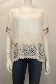 Johnny Was Collection Verena Dolman Top - Product Mini Image