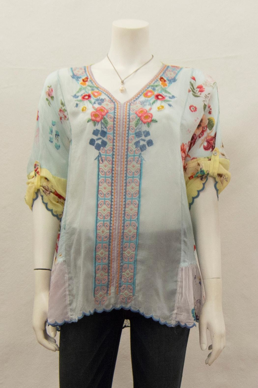 Johnny Was Collection Vervaine Blouse - Side Cropped Image