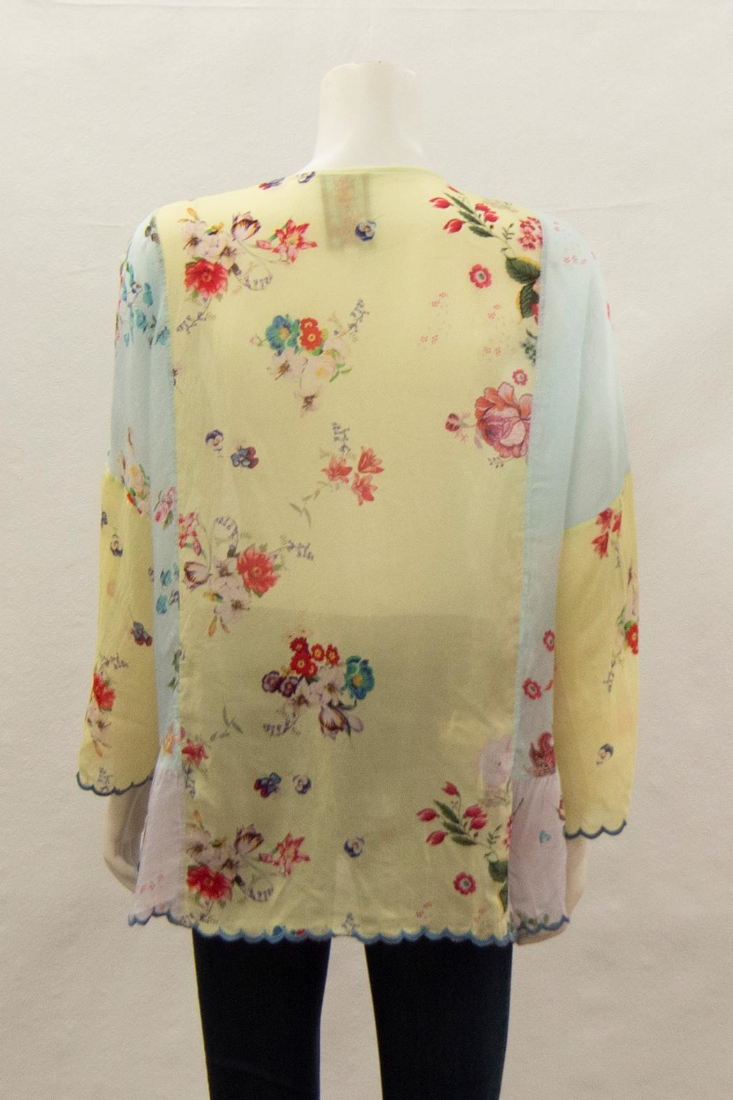 Johnny Was Collection Vervaine Blouse - Front Full Image