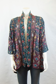 Johnny Was Collection Waverly Kimono - Product List Image