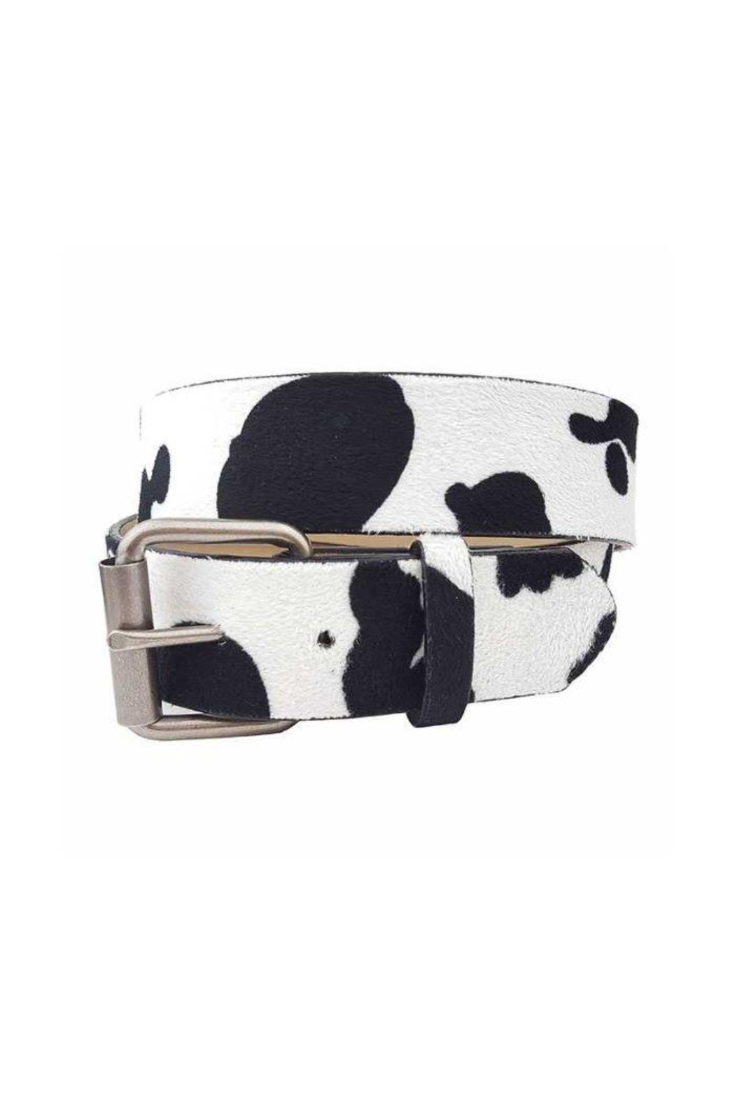 JOIA TRADING INC Cow Print Jean Belt - Main Image