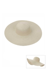 JOIA TRADING INC Fashion Straw Sun Floppy Hat - Front cropped