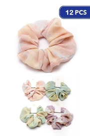 JOIA TRADING INC Fashion Tie Dye Scrunchies - Product Mini Image