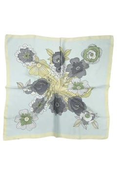 Shoptiques Product: Floral Print Silky Neck Scarf
