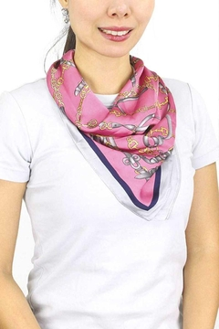 JOIA TRADING INC Large Chain Scarf - Alternate List Image