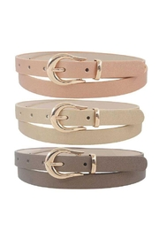 JOIA TRADING INC Skinny Fashion Belt - Product Mini Image