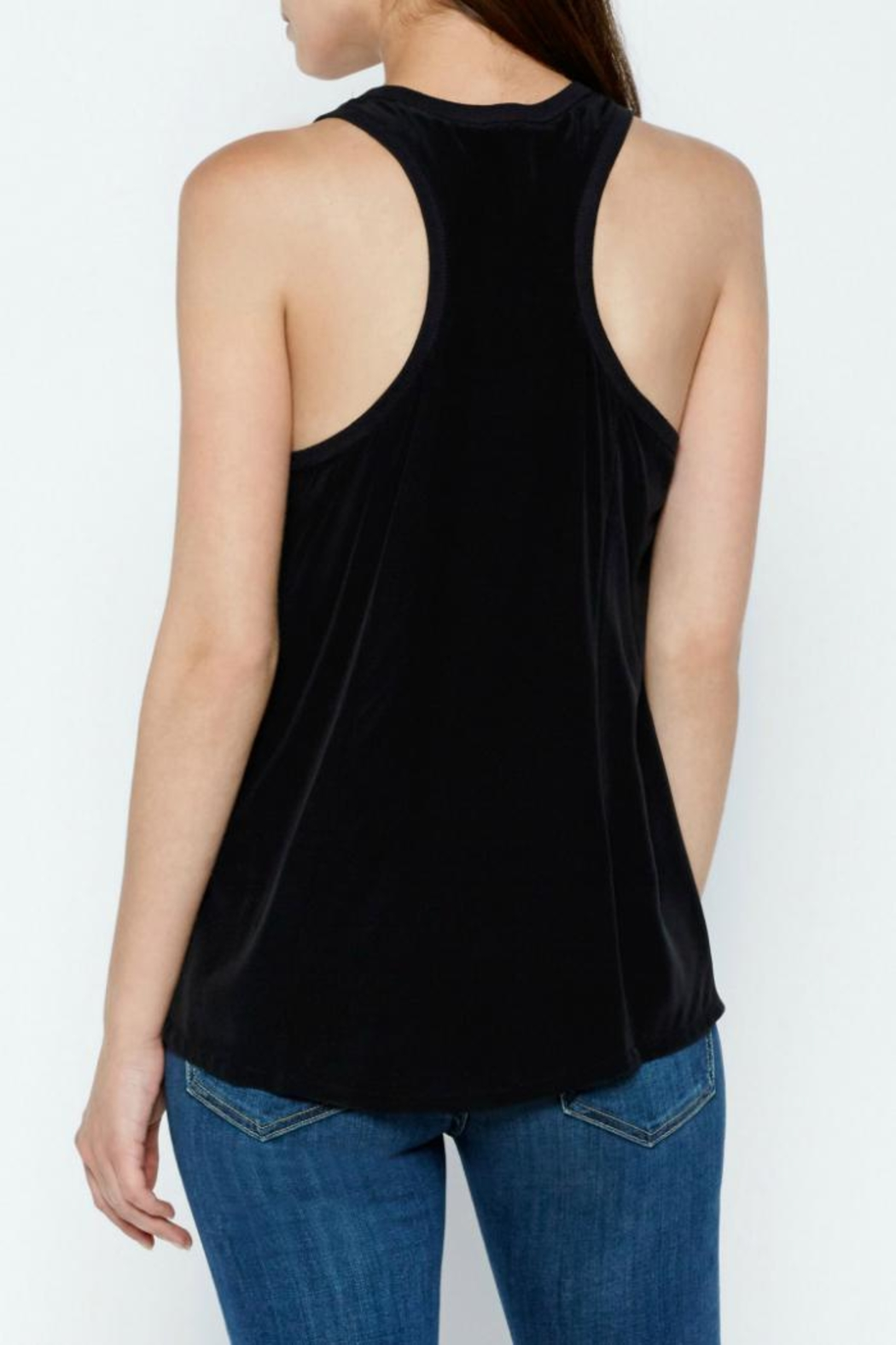 Joie Alicia Silk Top - Side Cropped Image