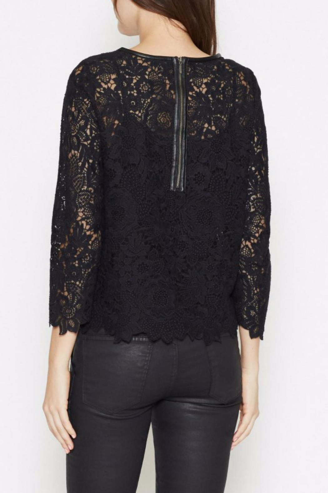 Joie Antonia Lace Top - Front Full Image