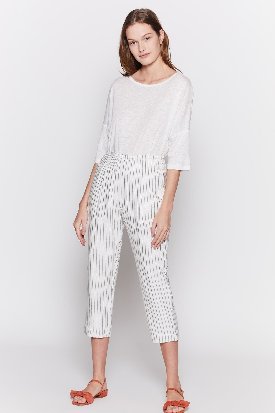 Joie Araona Porcelain Pants - Side Cropped Image