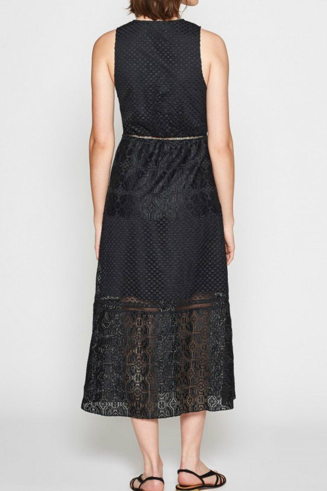 Joie Ardal Lace Dress - Back Cropped Image