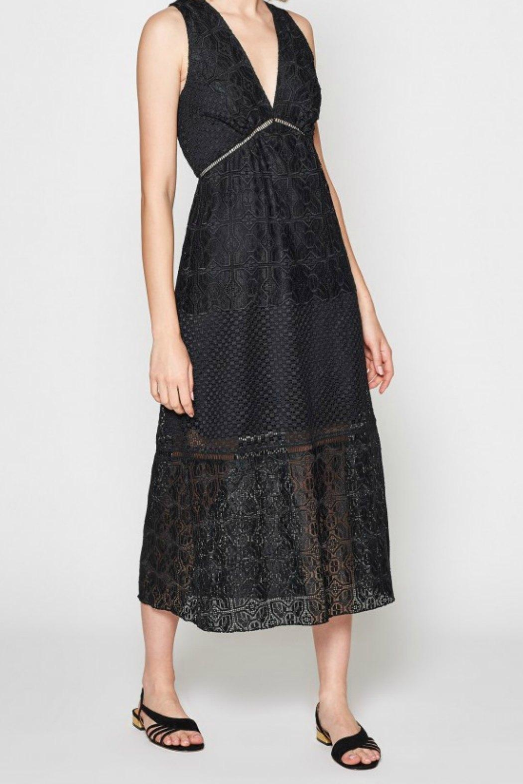 Joie Ardal Lace Dress - Side Cropped Image