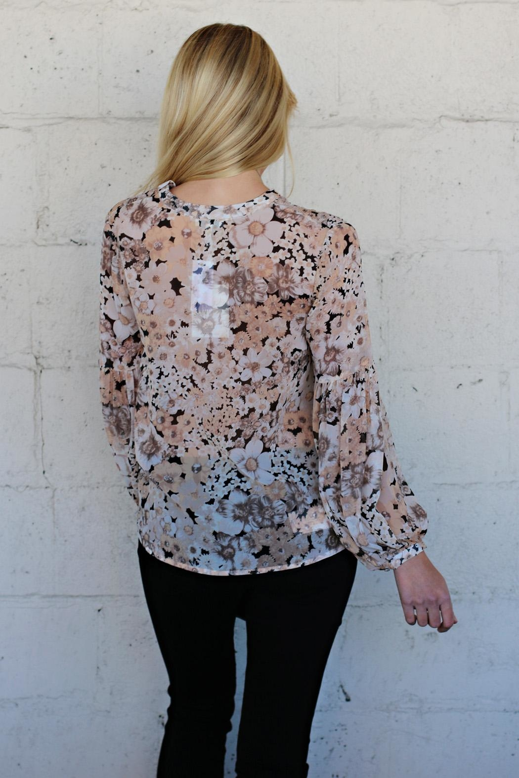 Joie Ardelle Silk Top - Side Cropped Image