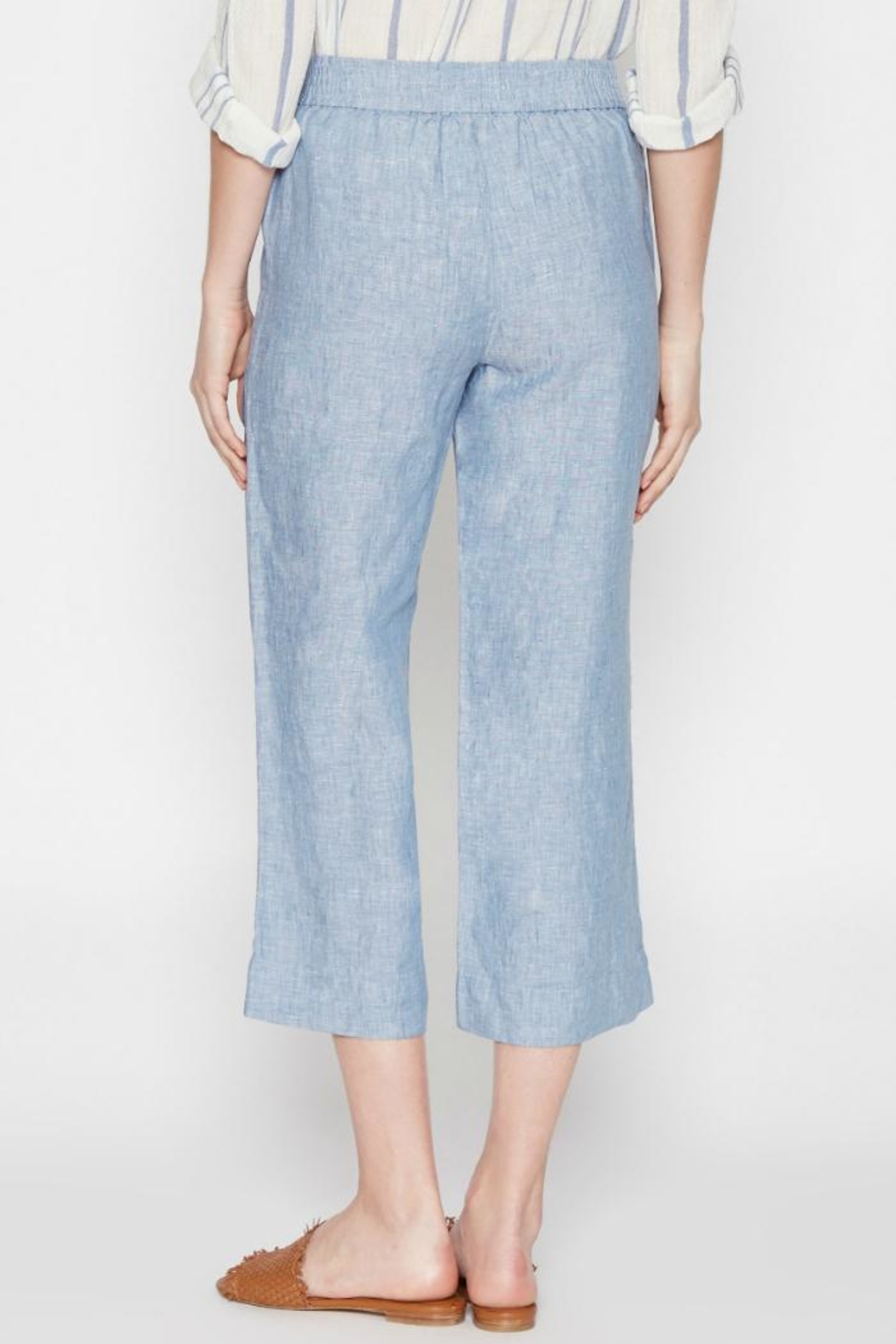 Joie Azelie Linen Pants - Side Cropped Image