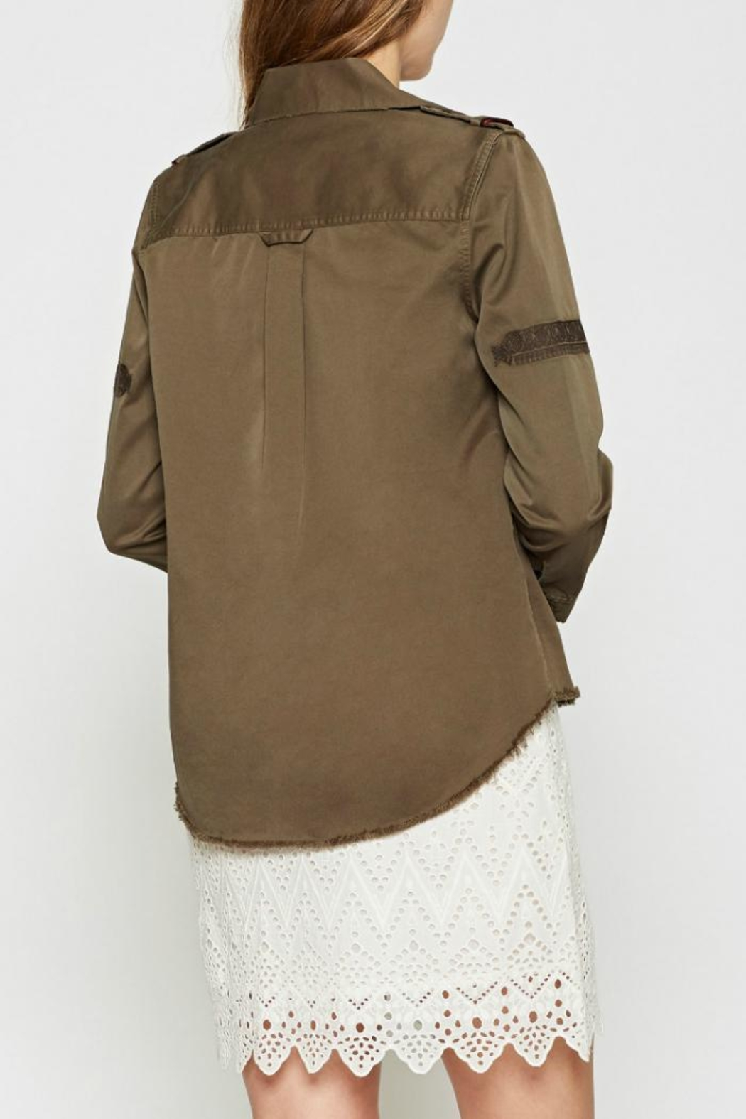 Joie Balthazar Jacket - Side Cropped Image
