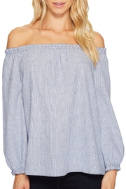Joie Bamboo Off The Shoulder Top - Product Mini Image