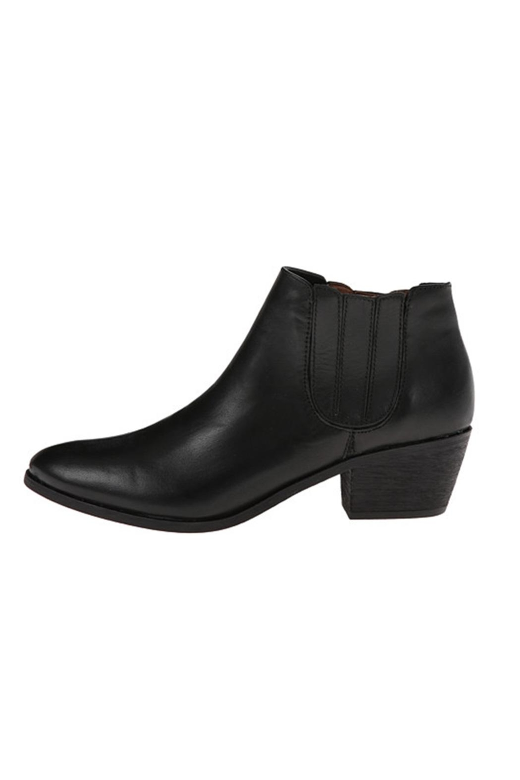 Joie Barlow Black Bootie - Front Cropped Image