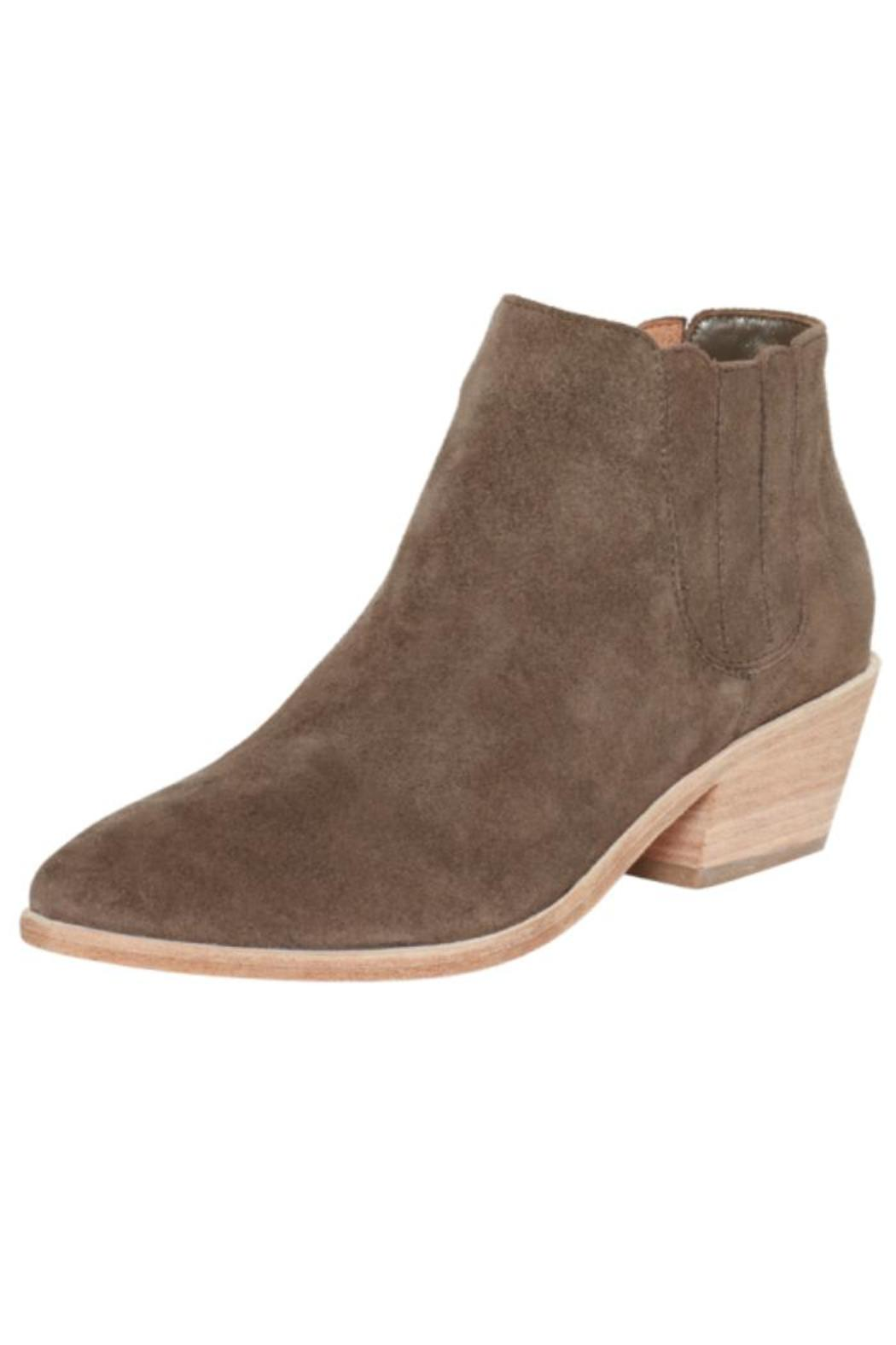 Joie Barlow Charcoal Booties - Front Cropped Image
