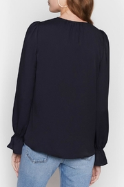 Joie Bolona Top Caviar - Front full body