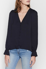 Joie Bolona Top Caviar - Back cropped