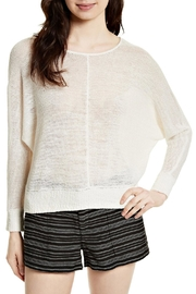 Joie Clady Linen Pullover Top - Product Mini Image