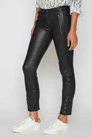 Joie Darnella Leather Pants - Front full body
