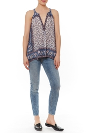 Joie Emrys Floral Border Top - Front cropped