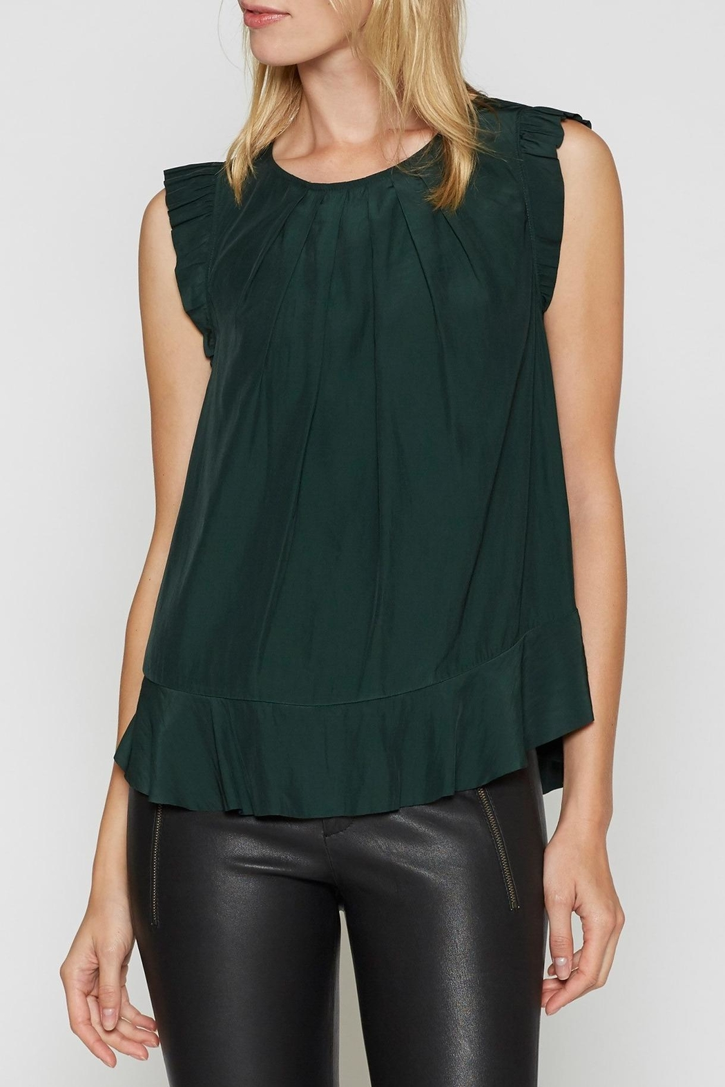 Joie Euna Flutter Top - Front Cropped Image