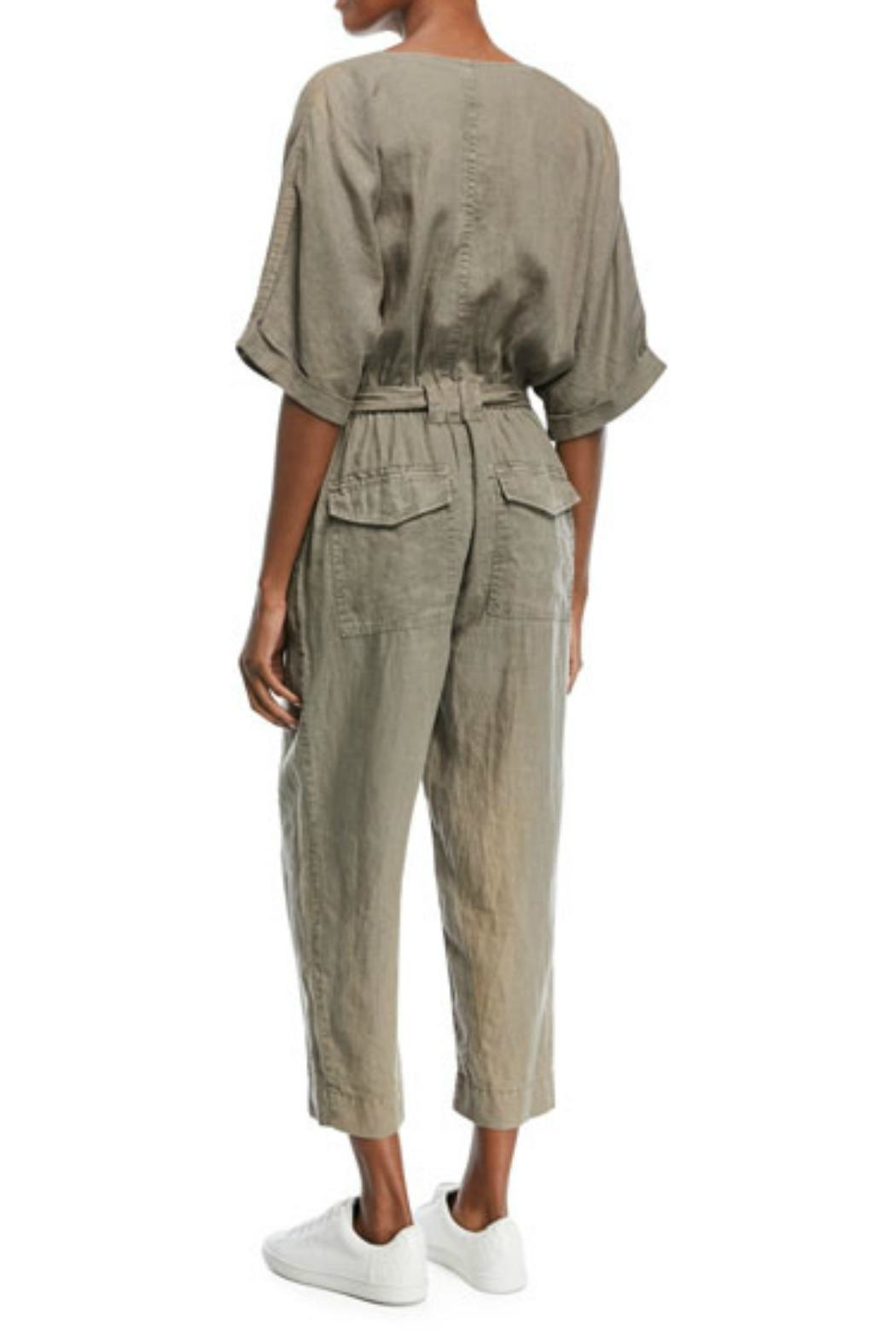 Joie Frodina Linen Jumpsuit - Front Full Image