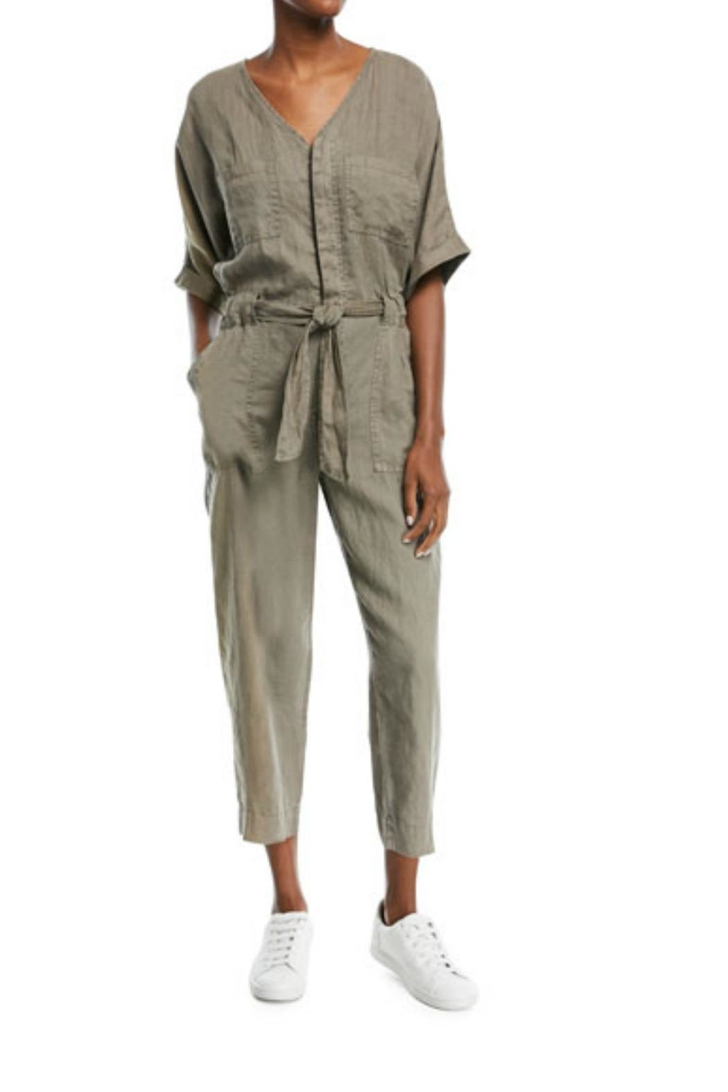 Joie Frodina Linen Jumpsuit - Front Cropped Image