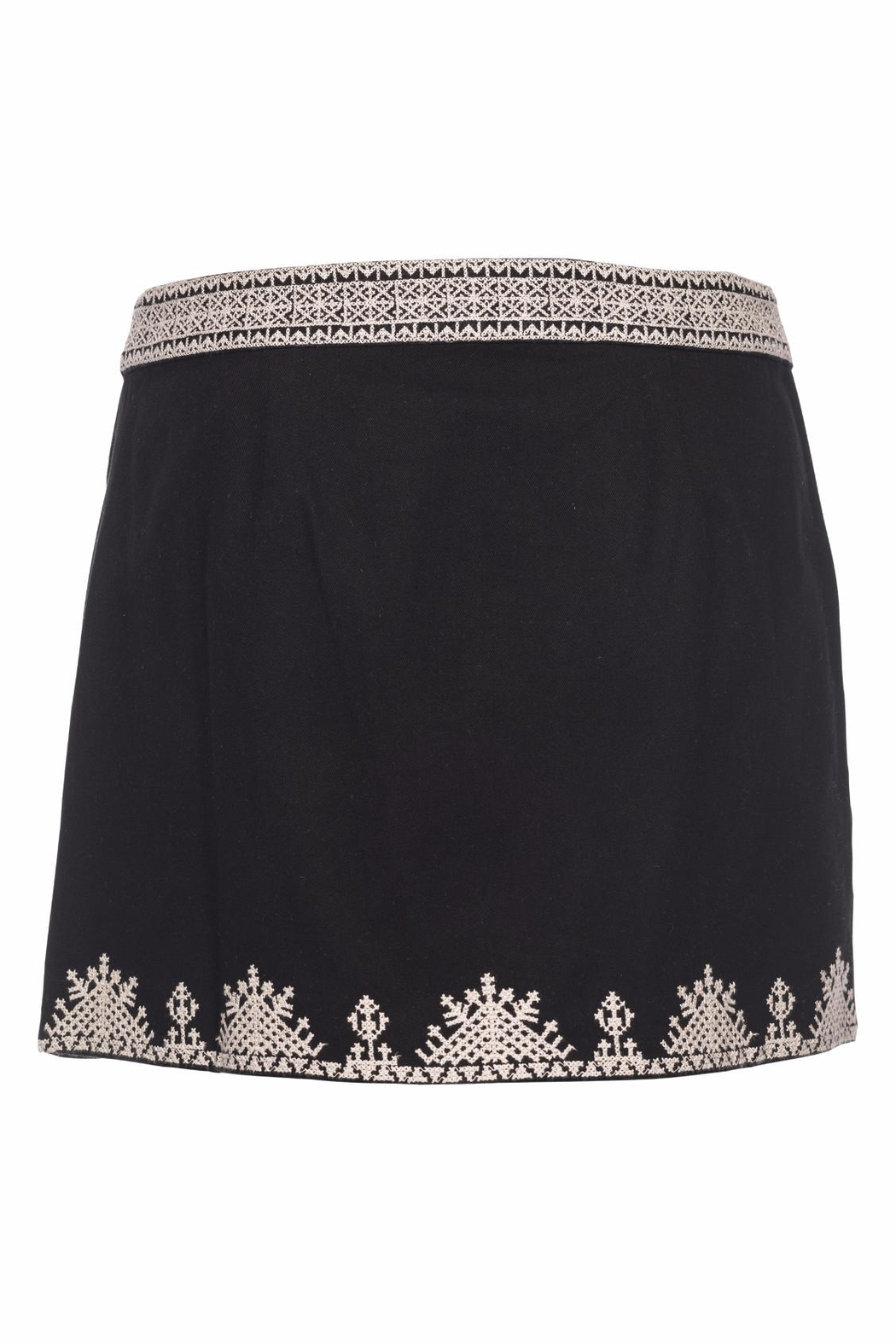Joie Genovefa Skirt Embroidered - Front Full Image