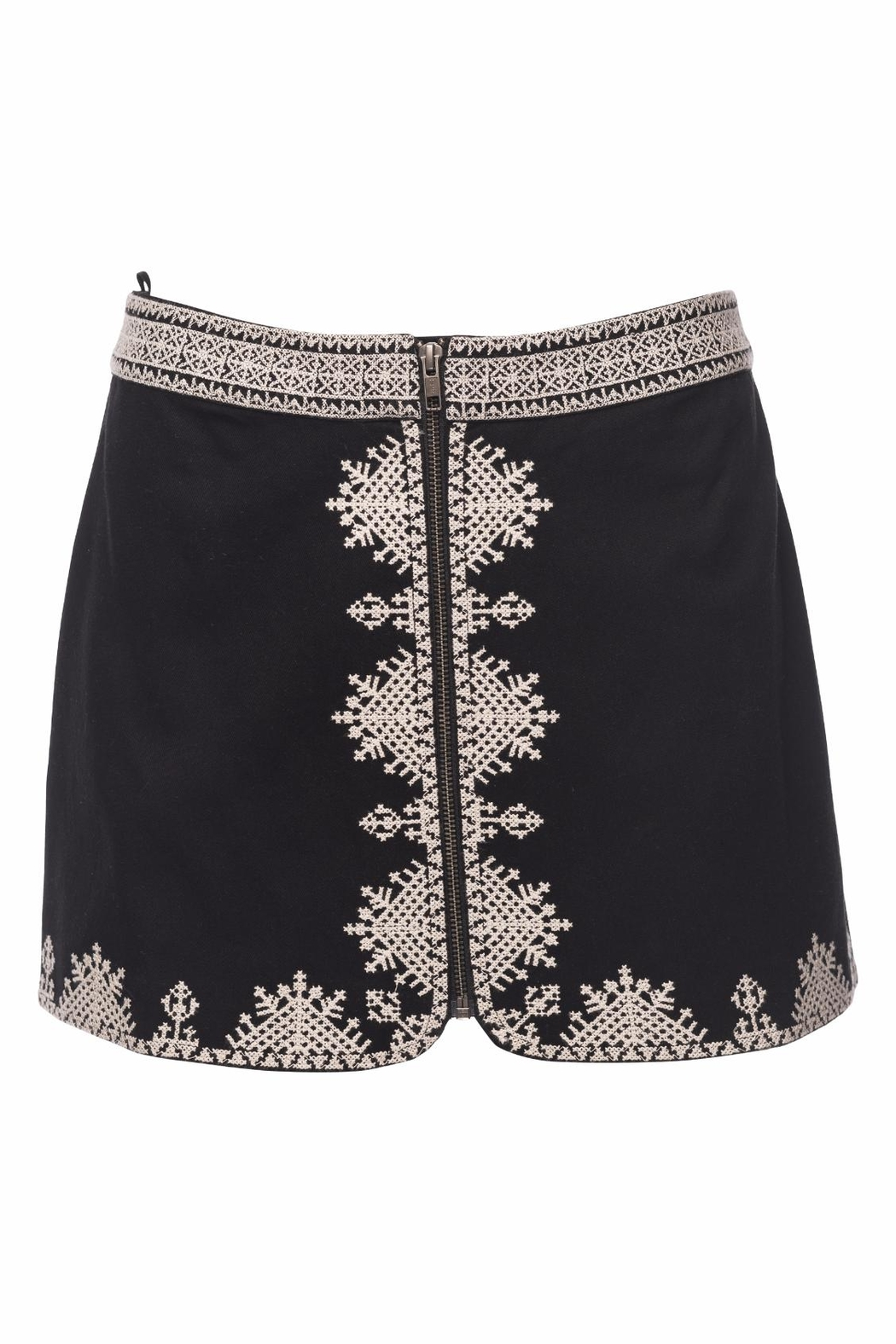 Joie Genovefa Skirt Embroidered - Main Image