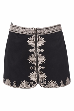 Shoptiques Product: Genovefa Skirt Embroidered