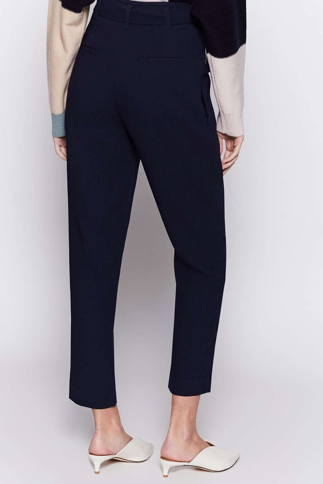 Joie Ianna Pants Midnight - Back Cropped Image