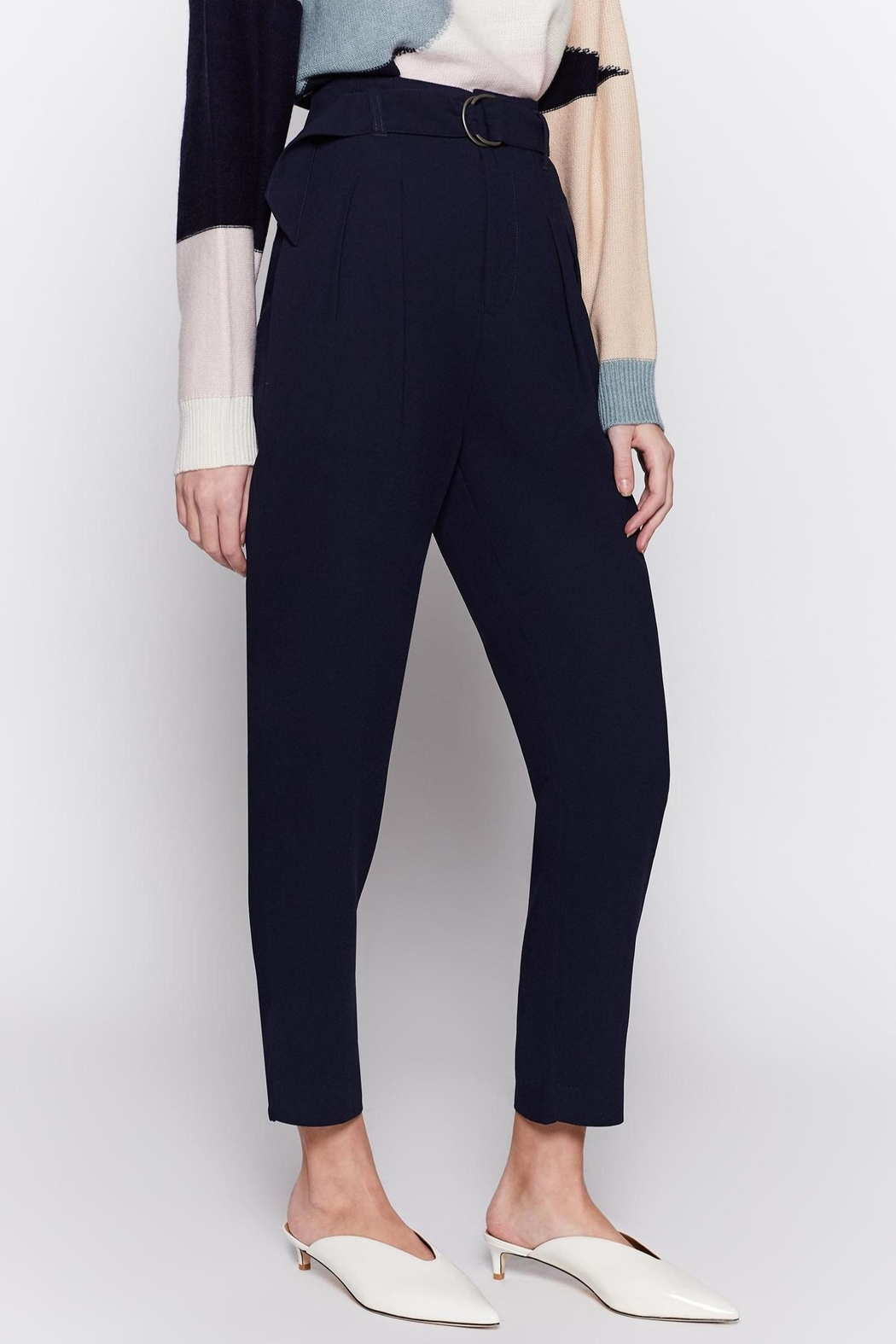 Joie Ianna Pants Midnight - Side Cropped Image