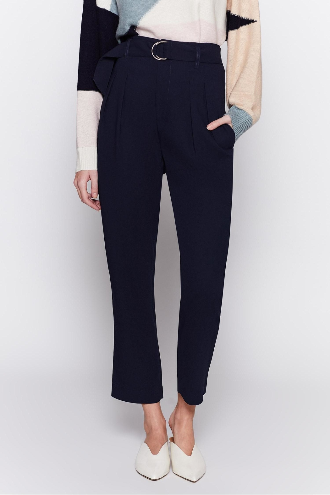 Joie Ianna Pants Midnight - Front Cropped Image