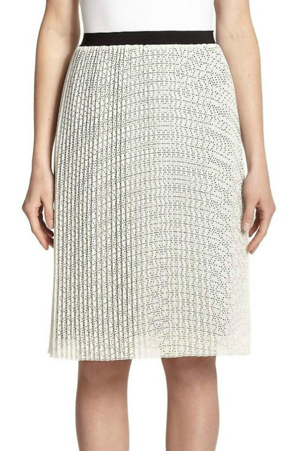 Joie Jacinthe Pleated Skirt - Front Full Image
