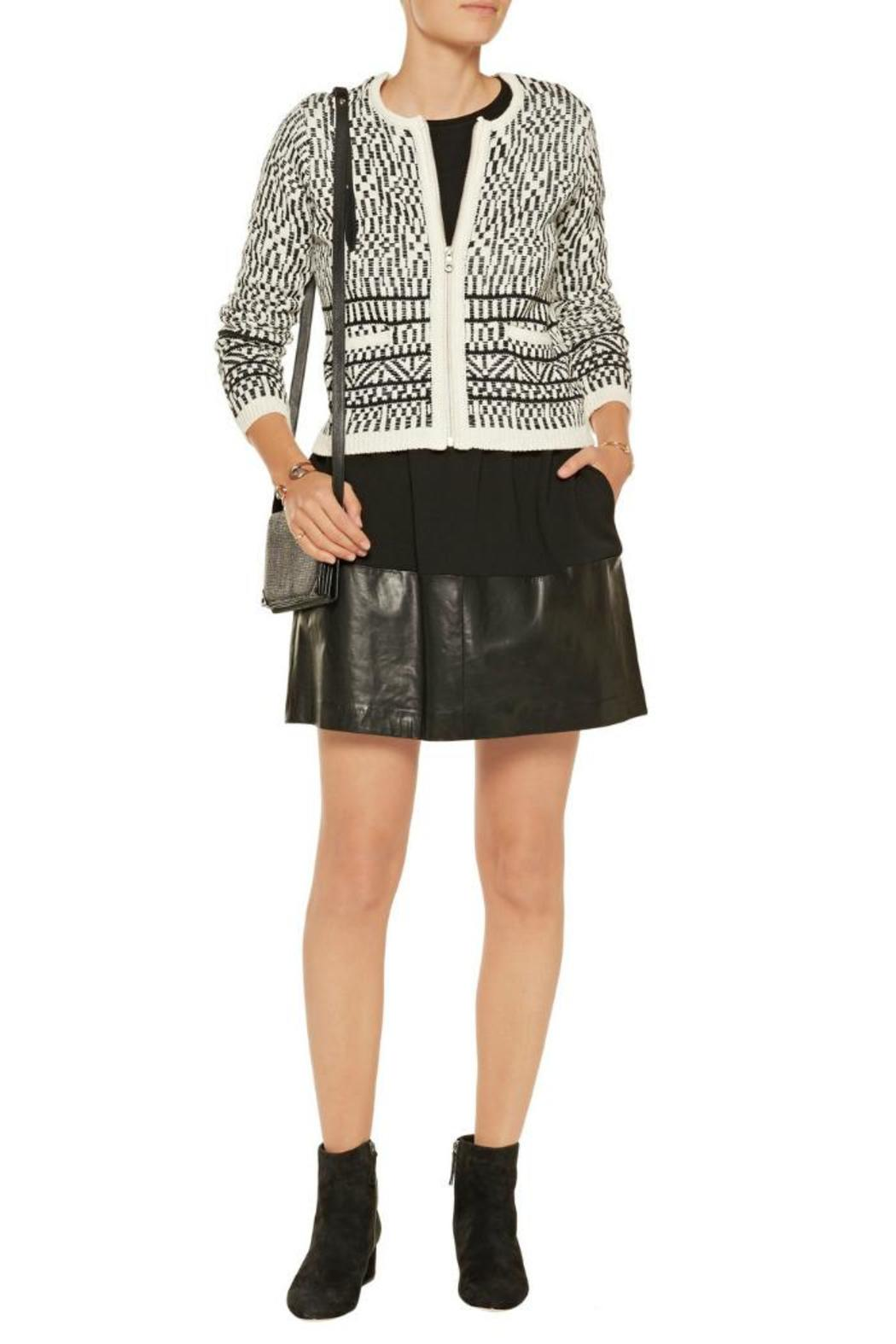 Joie Jacolyn Sweater Jacket - Front Cropped Image