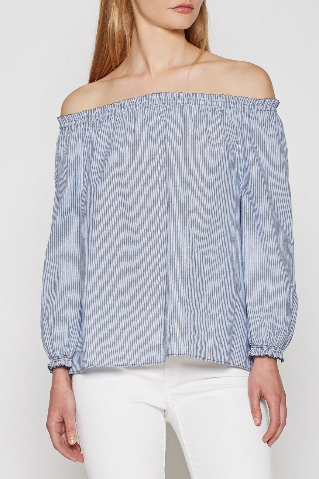 Joie Striped Bamboo Top - Main Image