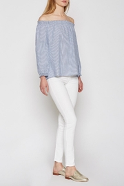 Joie Striped Bamboo Top - Front full body
